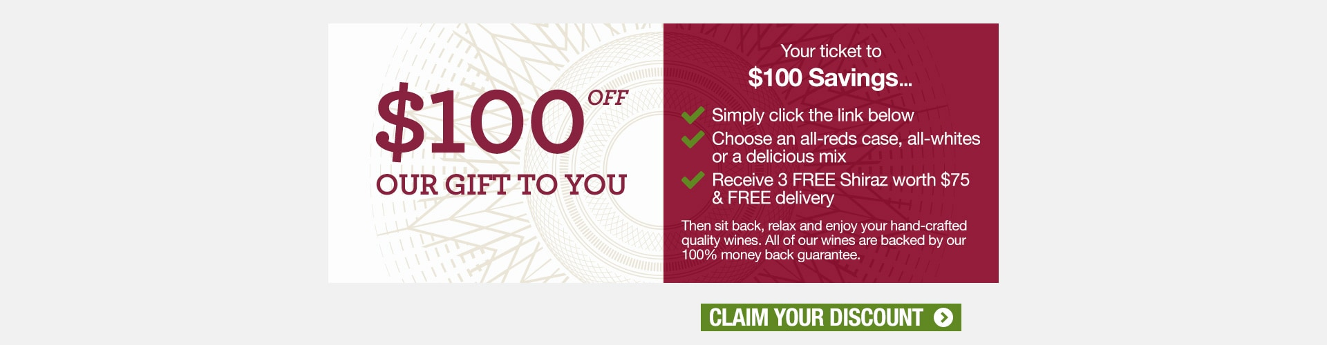 $100 Off Gift
