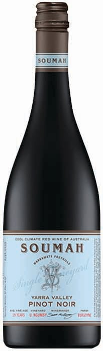 Soumah Single Vineyard Yarra Valley Upper Ngumby Pinot Noir